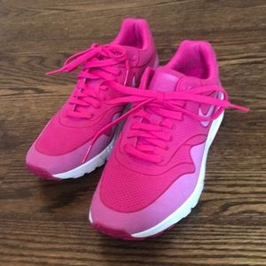 Pink Nike Air Sneakers Size 8
